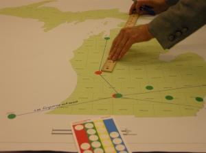 Michigan rail mapping